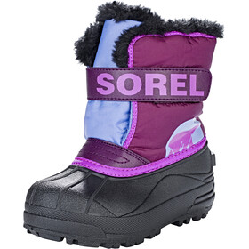 Sorel Snow Commander Støvler Børn pink/sort